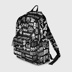 Рюкзак Истинный геймер цвета 3D — фото 1
