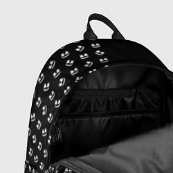 Рюкзак Marshmello: Dark Style цвета 3D-принт — фото 2