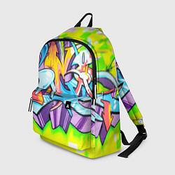 Рюкзак Неоновая кислота цвета 3D-принт — фото 1