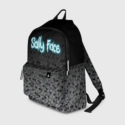 Рюкзак Sally Face: Skulls цвета 3D-принт — фото 1