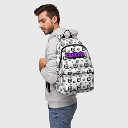 Рюкзак Twitch Online цвета 3D — фото 2