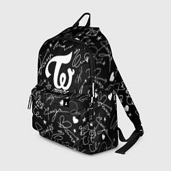 Рюкзак TWICE АВТОГРАФЫ цвета 3D-принт — фото 1