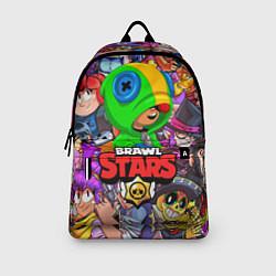 Рюкзак BRAWL STARS LEON цвета 3D — фото 2