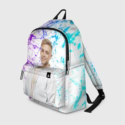 Рюкзак Егор Крид цвета 3D-принт — фото 1