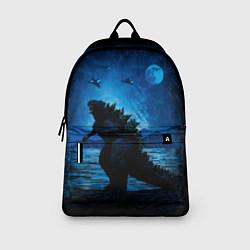Рюкзак GODZILLA цвета 3D-принт — фото 2