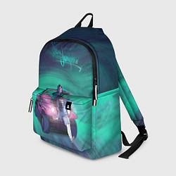 Рюкзак ЧЕРНОЕ ЗЕРКАЛО цвета 3D-принт — фото 1