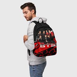 Рюкзак BTS цвета 3D-принт — фото 2