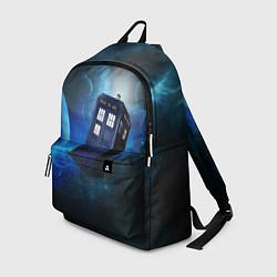 Рюкзак ТАРДИС цвета 3D — фото 1