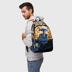 Рюкзак Van Gogh Tardis цвета 3D — фото 2