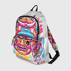 Рюкзак Светлый самурай цвета 3D — фото 1