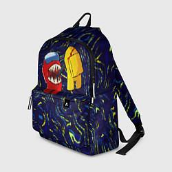 Рюкзак Among Us Van Gogh Style цвета 3D — фото 1