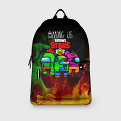 Рюкзак Among Us Brawl StarS цвета 3D — фото 2