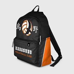 Городской рюкзак с принтом Karasuno, цвет: 3D, артикул: 10278807705601 — фото 1