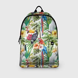 Рюкзак Попугаи в тропиках цвета 3D — фото 2