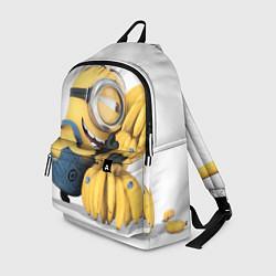 Рюкзак Minion loves banana цвета 3D-принт — фото 1