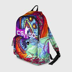 Рюкзак CS:GO цвета 3D-принт — фото 1