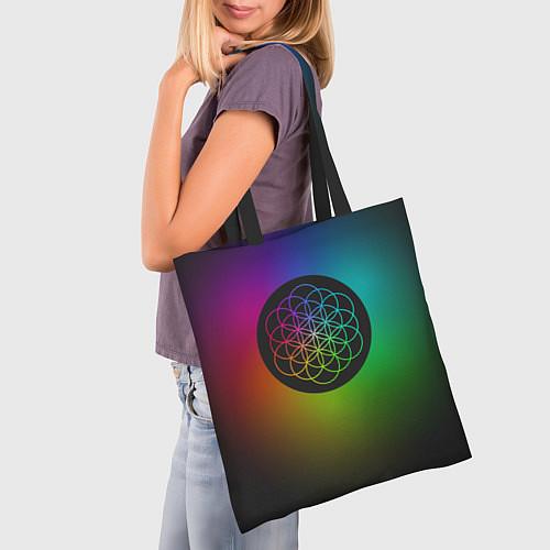 Сумка-шоппер Coldplay Colour / 3D-принт – фото 3