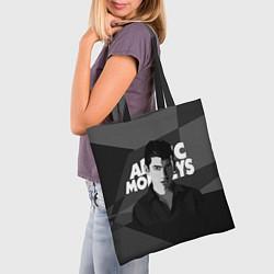 Сумка-шопер Солист Arctic Monkeys цвета 3D-принт — фото 2