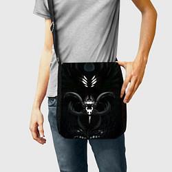 Сумка на плечо Hollow Knight цвета 3D-принт — фото 2