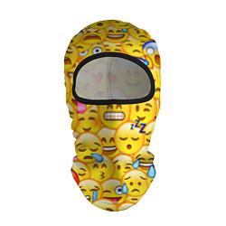 Балаклава Emoji цвета 3D-черный — фото 1