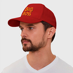Бейсболка Big Boss цвета красный — фото 1