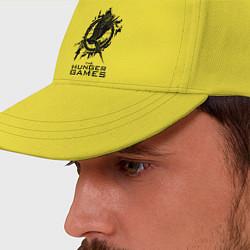 Бейсболка The Hunger Games цвета желтый — фото 2