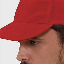 Бейсболка RUS 93 цвета красный — фото 2