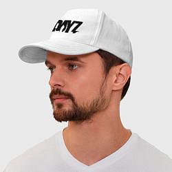 Бейсболка DayZ цвета белый — фото 1