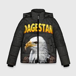 Куртка зимняя для мальчика Dagestan Eagle цвета 3D-черный — фото 1