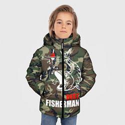 Куртка зимняя для мальчика Best fisherman цвета 3D-черный — фото 2