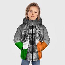 Куртка зимняя для мальчика McGregor: Boxing of Thrones цвета 3D-черный — фото 2
