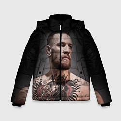 Куртка зимняя для мальчика Conor McGregor цвета 3D-черный — фото 1