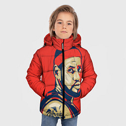 Куртка зимняя для мальчика LeBron James цвета 3D-черный — фото 2