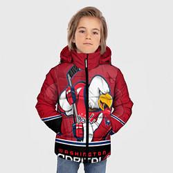 Куртка зимняя для мальчика Washington Capitals цвета 3D-черный — фото 2