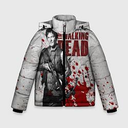 Куртка зимняя для мальчика Walking Dead: Deryl Dixon цвета 3D-черный — фото 1