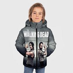 Куртка зимняя для мальчика Walking Duet цвета 3D-черный — фото 2