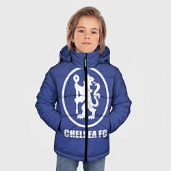 Куртка зимняя для мальчика Chelsea FC цвета 3D-черный — фото 2