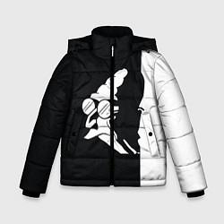Детская зимняя куртка для мальчика с принтом Grandfather: Black & White, цвет: 3D-черный, артикул: 10109127806063 — фото 1