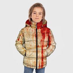 Куртка зимняя для мальчика Бинты 2 цвета 3D-черный — фото 2