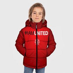 Куртка зимняя для мальчика I am United - фото 2