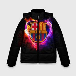 Куртка зимняя для мальчика Barcelona7 цвета 3D-черный — фото 1