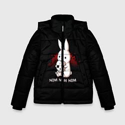Зимняя куртка для мальчика Череп
