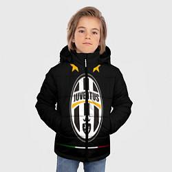 Куртка зимняя для мальчика Juventus: 3 stars цвета 3D-черный — фото 2
