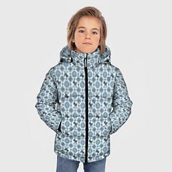 Куртка зимняя для мальчика Олени цвета 3D-черный — фото 2