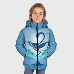 Куртка зимняя для мальчика Будущий врач цвета 3D-черный — фото 2