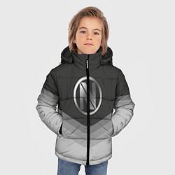 Куртка зимняя для мальчика EnVyUs Uniform цвета 3D-черный — фото 2