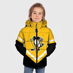 Куртка зимняя для мальчика NHL: Pittsburgh Penguins цвета 3D-черный — фото 2