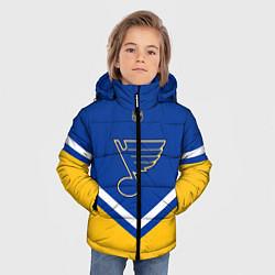 Куртка зимняя для мальчика NHL: St. Louis Blues цвета 3D-черный — фото 2