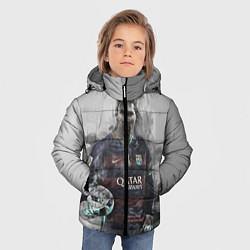 Детская зимняя куртка для мальчика с принтом Lionel Messi, цвет: 3D-черный, артикул: 10113185306063 — фото 2