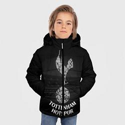 Куртка зимняя для мальчика Tottenham Hotspur цвета 3D-черный — фото 2